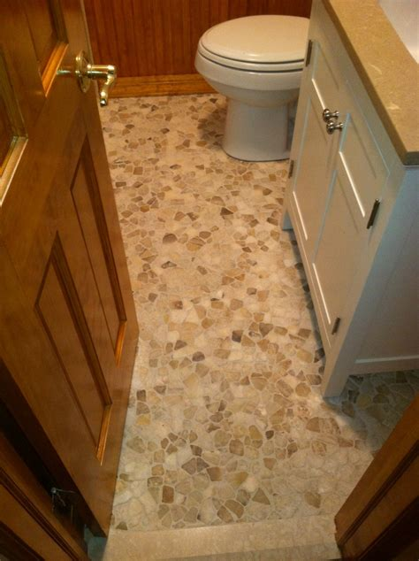 Bathroom Mosaic Floor Tile by Mixed Quartz Mosaic Tile Bathroom Flooring Pebble Tile Shop