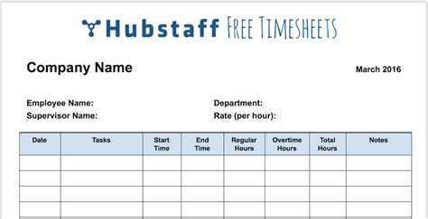 The Only Timesheet Template Your Business Needs Free Download Company Timesheet Template