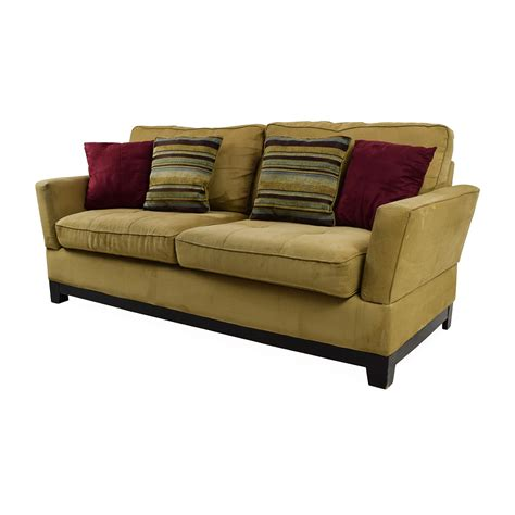 jennifer sofas hton sofa in coral stripe from jennifer convertibles
