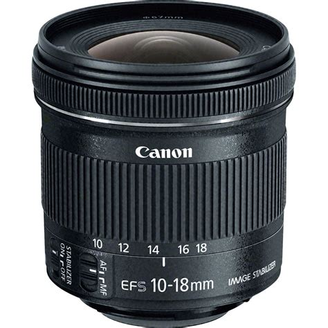 Lensa Canon 10 18mm F 4 5 5 6 Is canon ef s 10 18mm f 4 5 5 6 is stm lens 9519b002 b h photo