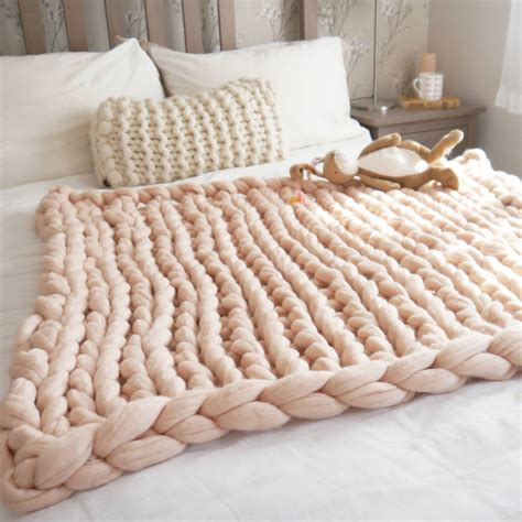 knitting chunky chunky knit baby blanket by aston