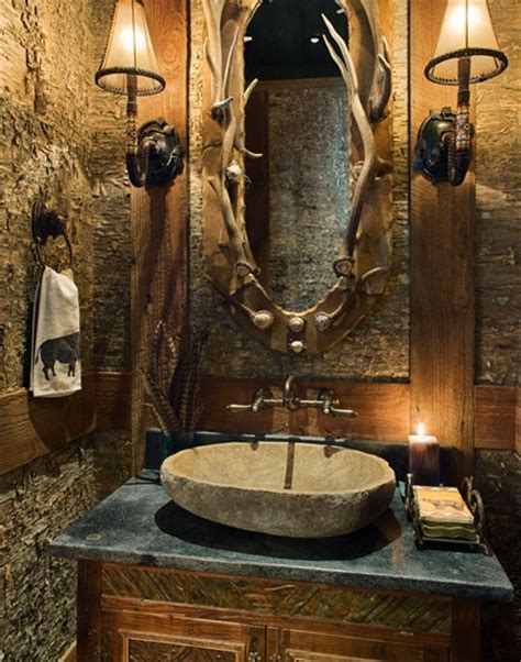 western bathroom accessories rustic the rustic touch bringing the outside in