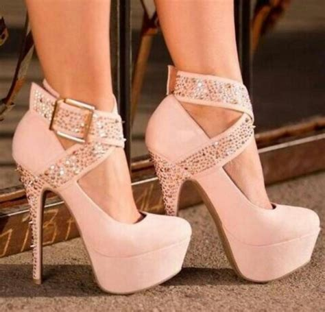 pink sandals heels shoes heels platform shoes pink glittery belt baby