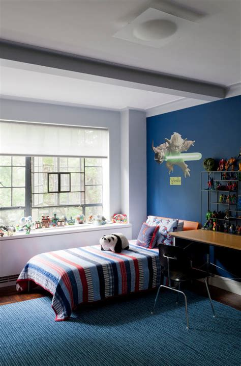 Decorating With Blue Walls Bedroom Decor Blue Walls The House Decorating