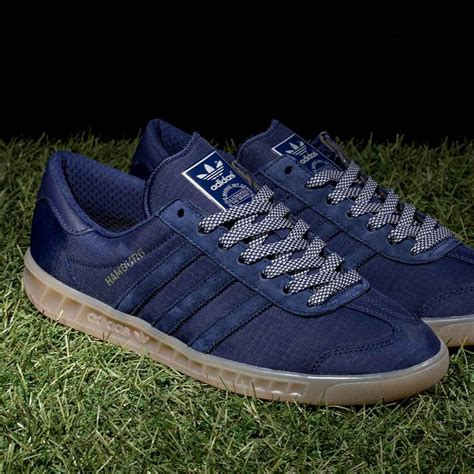 Adidas Hamburg Ori new in the adidas originals hamburg tech trainer in blue gum more styles available