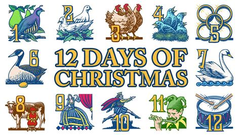 how many gifts for 12 days of christmas the twelve days of for investors
