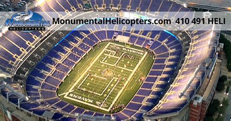 Baltimore Events Calendar Baltimore Ravens Tailgate Helicopter Tour
