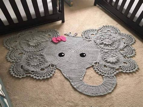 Crochet Elephant Rug by Outdoor Ideas Elephant Rug Crochet Pattern