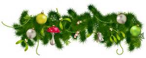 Transparent Christmas Pine Garland Decor Png Clipart Gallery Yopriceville High Quality