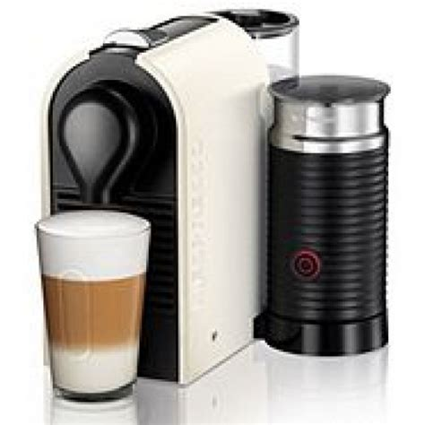 Krups XN260140 Nespresso U and Milk Coffee Maker Cream