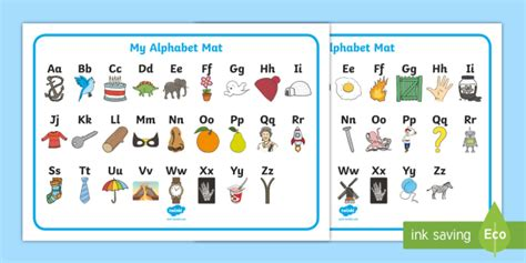 a b c to z in french a z alphabet upper and lower case word mat australia
