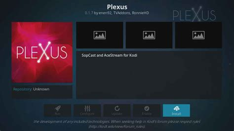 how to install plexus on kodi in less than a minute