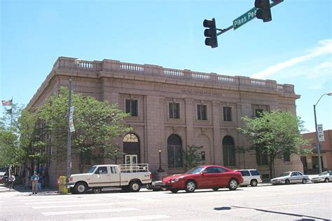 Post Office In Colorado Springs by Colorado Springs Co Post Office Photo Picture Image
