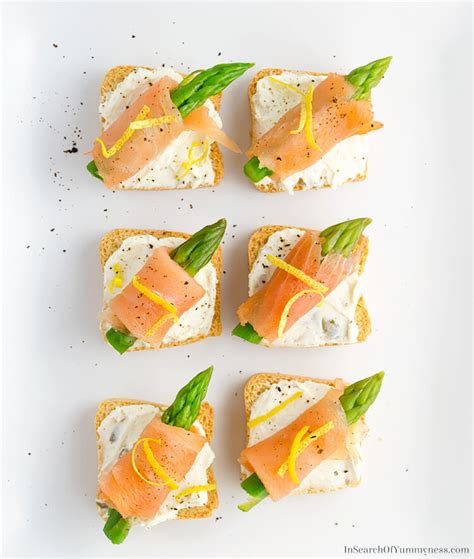 salmon canapes smoked salmon canap 233 s in search of yummyness