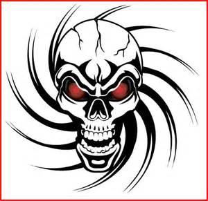 tribal skull tattoo tattoo art gallery