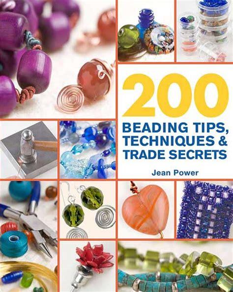 inspirational beading 200 beading tips techniques