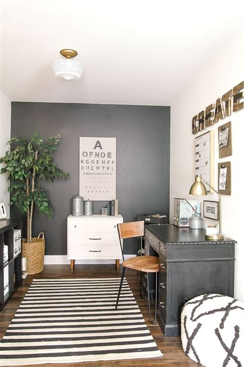 modern industrial office modern industrial farmhouse office reveal mid century