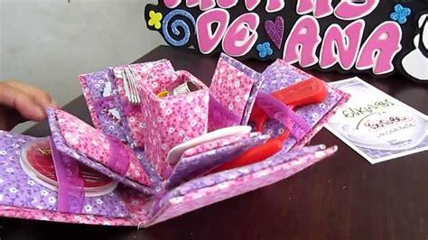 como decorar una caja redonda de galletas caja costurero forrada en tela youtube