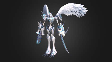digimon  omnimon merciful mode    model