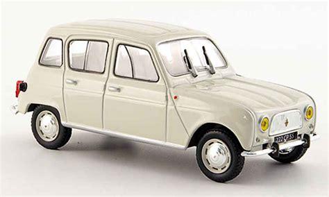 Miniature L by Renault 4l Miniature L Beige 1962 Norev 1 43 Voiture