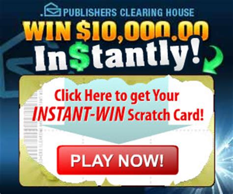 Pch Instant - instant scratch to win card for 10 000 thrifty momma ramblings