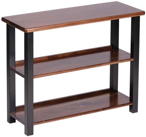 bookshelf table black walnut caretta workspace