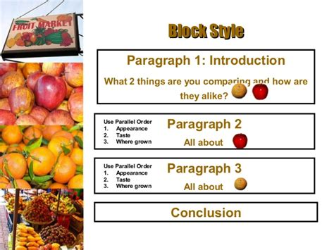 The Paper About Comparison And Contrast by Block Compare Contrast Essay Writefiction581 Web Fc2