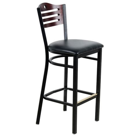 pub height chairs lancaster table seating mahogany finish bar height