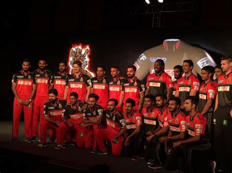 ipl rcb team in 2017 royal challengers bangalore rcb ipl 2018 team squad