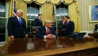 Trump Redesign Oval Office by Donald Trump Approval Rating Hits New Record Low Not