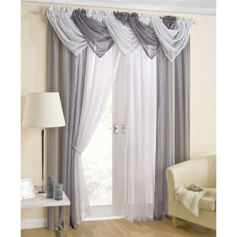 how to dress a window with voile and curtains 1000 ideas about voile curtains on pinterest curtains