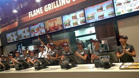 burger king dubai mall team july 18 2016 bkc visit