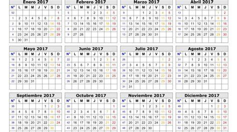 calendario 2017 aire libre noticias
