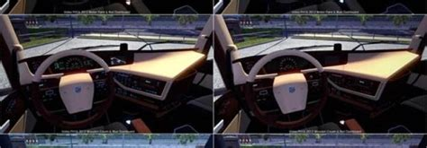 new interior and colored dashboard for volvo fh16 2012 v2