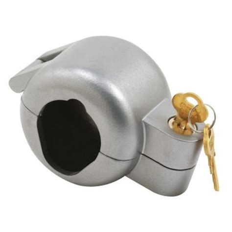 Locked Out Door Knob prime line gray painted die cast knob lock out device s