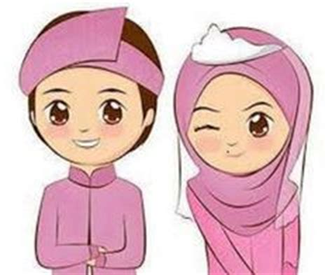 doodle pasangan gambar kartun muslimah lucu pasangan ideas for the house