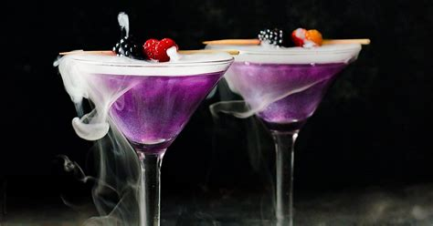 purple cocktail the witch s cocktail the flavor bender