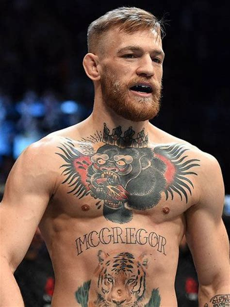 mcgregor tattoo on chest конор макгрегор conor mcgregor биография фото рост и