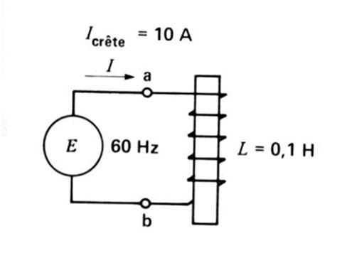 inductance en henry electronique theorique les inductances