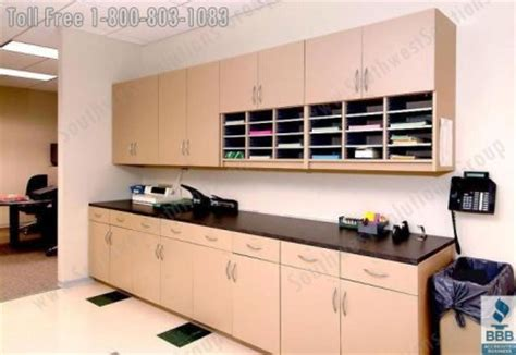 copy room fax print copy center cabinets casework office supply storage mailroom furniture