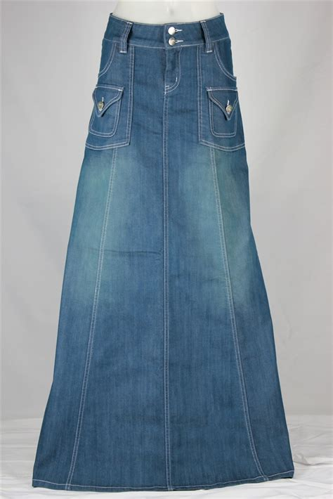 Denim Skirt 18 modest chic denim skirt sizes 6 18