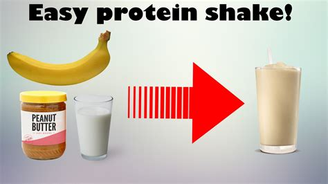how to your to shake make a protein shake without protein powder simple
