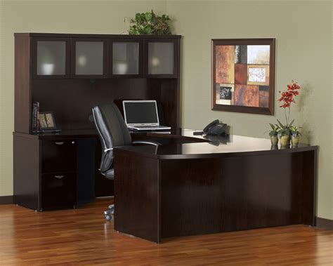 u shaped office desk with hutch mayline meu1 mira u shaped desk with 2 and 3 drawer