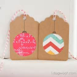 homemade christmas gift tags day 2 scrapbook paper