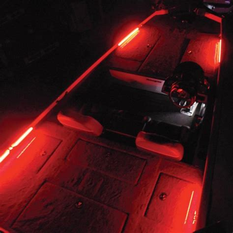 led boat house lights t h marine 174 led btkit red red led lighting kit boatid