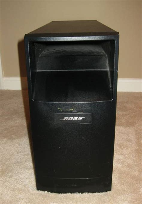 bose acoustimass 15 series ii home theater speaker system