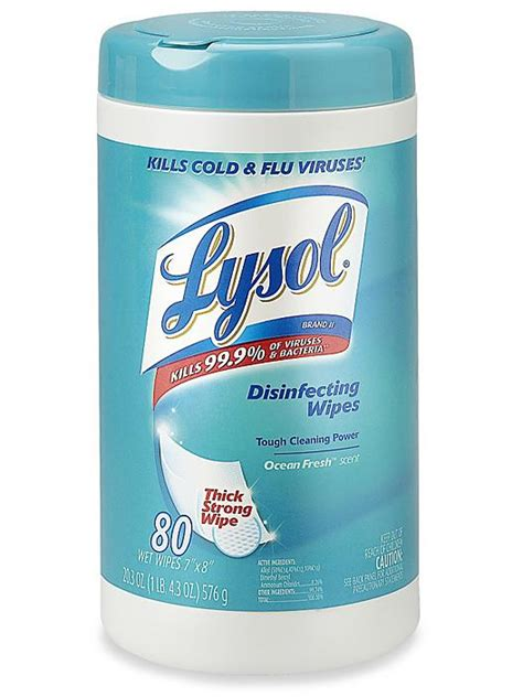 lysol disinfecting wipes  ct   uline