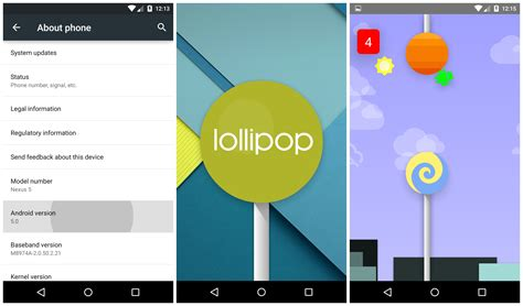 android version 5 0 on android 5 0 lollipop on the nexus 5