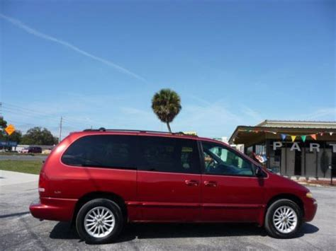 auto body repair training 2000 chrysler town country transmission control sell used 2000 chrysler town country lx in 7028 us hwy 19 new port richey florida united