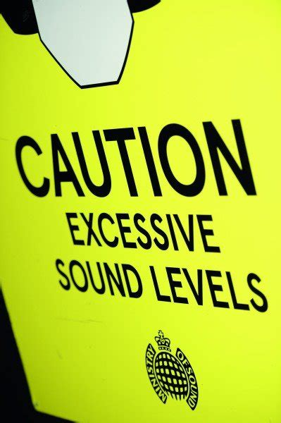 ministry of sound house music events noise exposure at ministry of sound